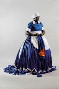 Mary Sibande <i>They Don't Make Them Like They Used To</i>, 2008.