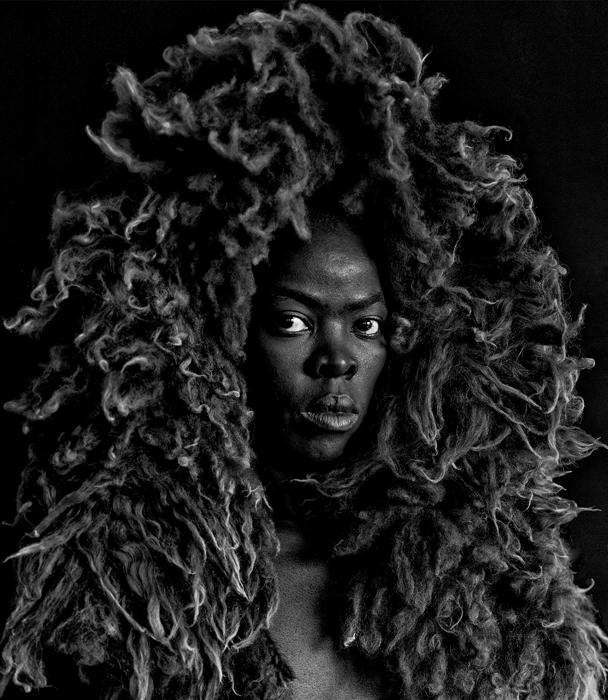Zanele Muholi Somnyama Ngonyama II, Oslo, 2015. Silver gelatin print