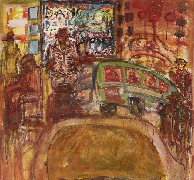 David Koloane Rhythm, 2016. Acrylic on canvas