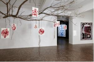 Barthélémy Toguo 'Strange Fruit' installation view