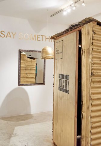 The Brother Moves On / Hlabelela: It's a New Mourning Nkush / 2016 | Installation view: Goodman Gallery, Johannesburg