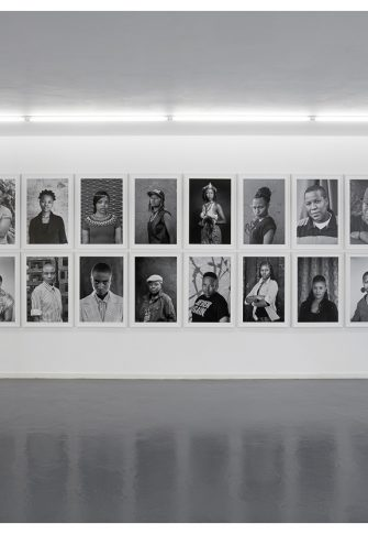 Zanele Muholi 'Faces and Phases 10' (2016) | Installation view: Stevenson, Johannesburg