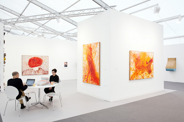 Stevenson at Frieze London 2016. Photograph by Linda Nylind. Courtesy of Linda Nylind/Frieze.