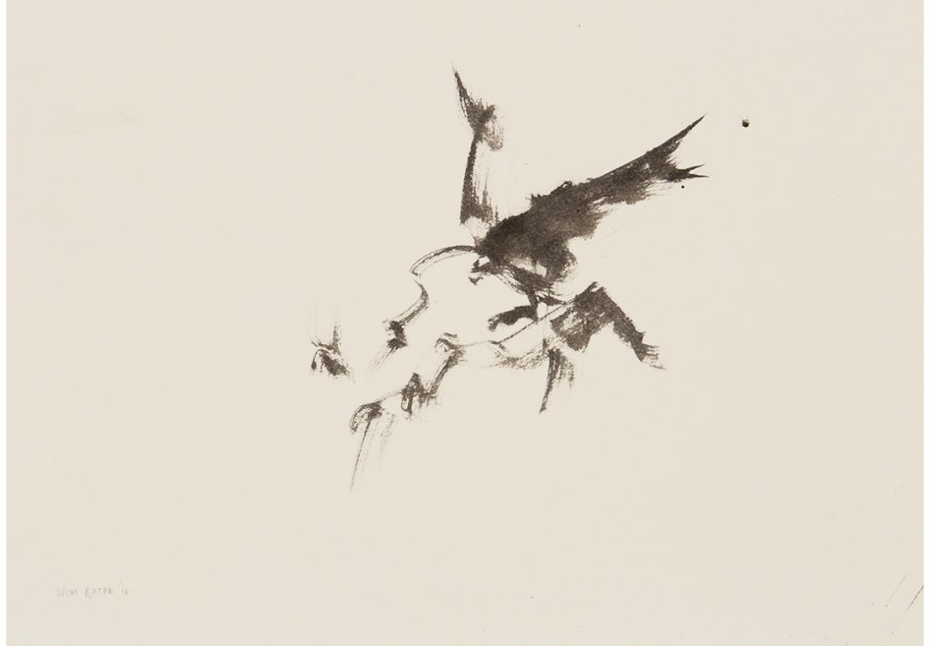 Wim Botha, Untitled, 2016. Ink on paper, 35 x 50cm