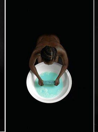 Buhlebezwe Siwani, Qunusa! Buhle, 2015. Inkjet print on Hahnemuhle Photorag, 111.8 x 55.4 cm (each)