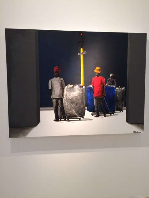 Sam Nhlengethwa at Goodman Gallery