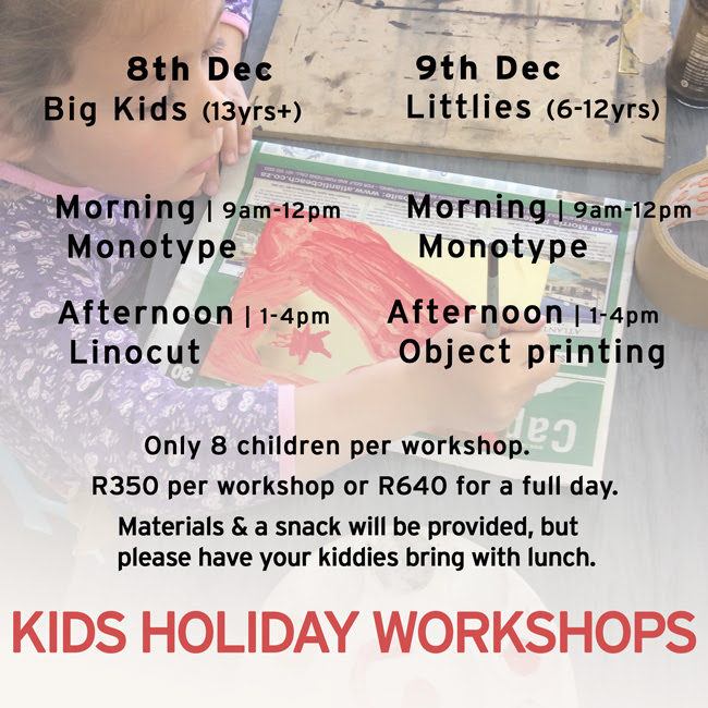 Kids Holiday Workshops @ Warren Editions