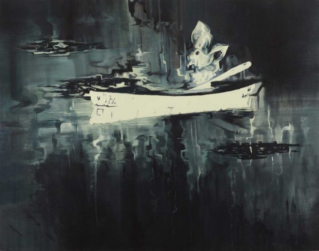 Sanell Aggenbach Elysium, 2017. Oil on canvas, 100 x 127 cm