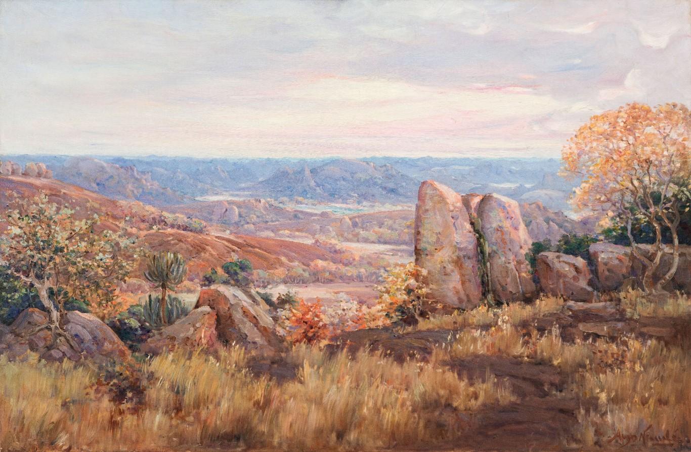 Pieter Hugo Naudé, <i>View Over the Matopos</i>