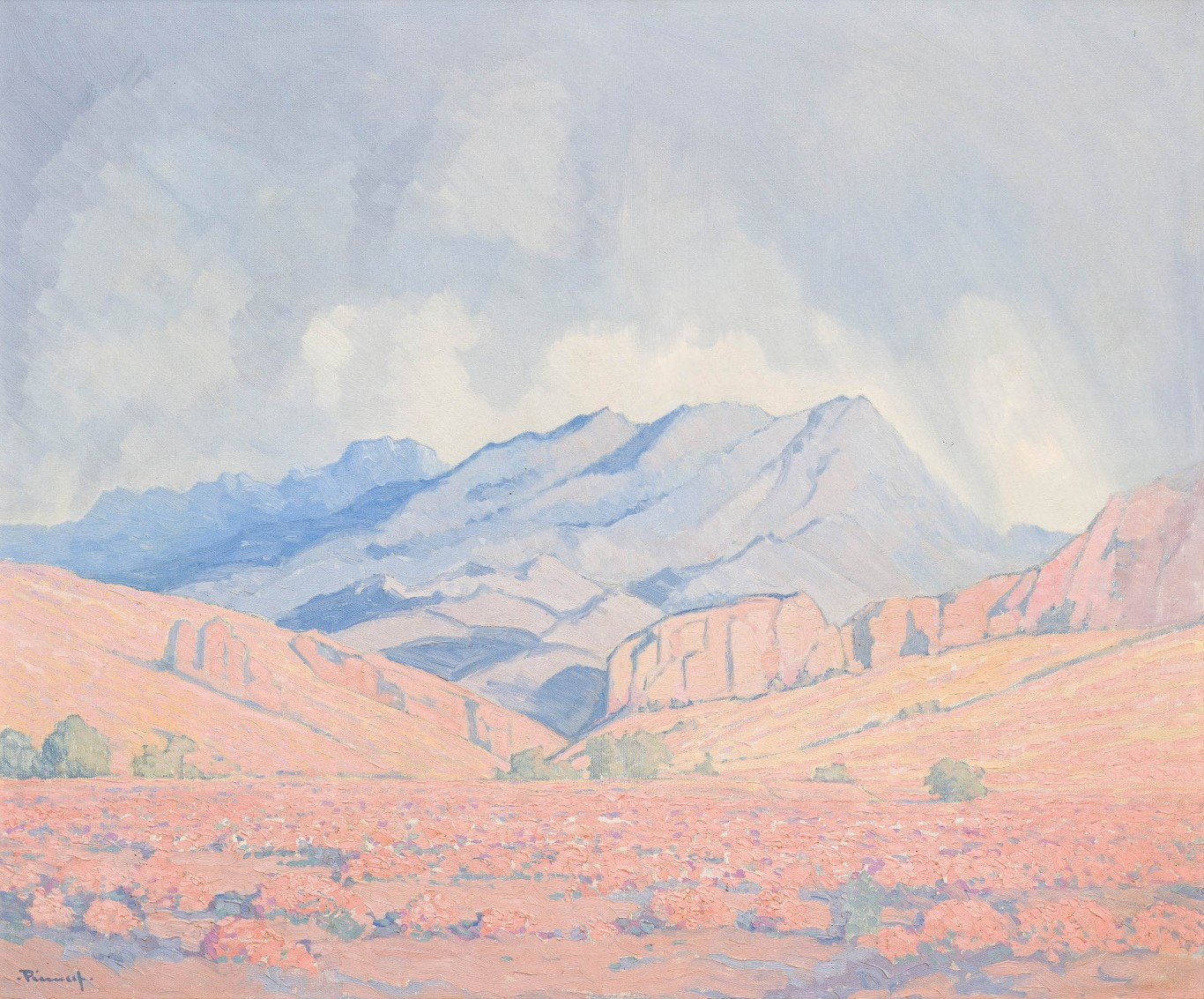 Jacob Hendrik Pierneef, <i>Extensive Landscape, Northern Drakensberg</i>