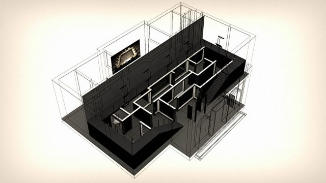 An interior plan of the space, taken from the pavilion's website.