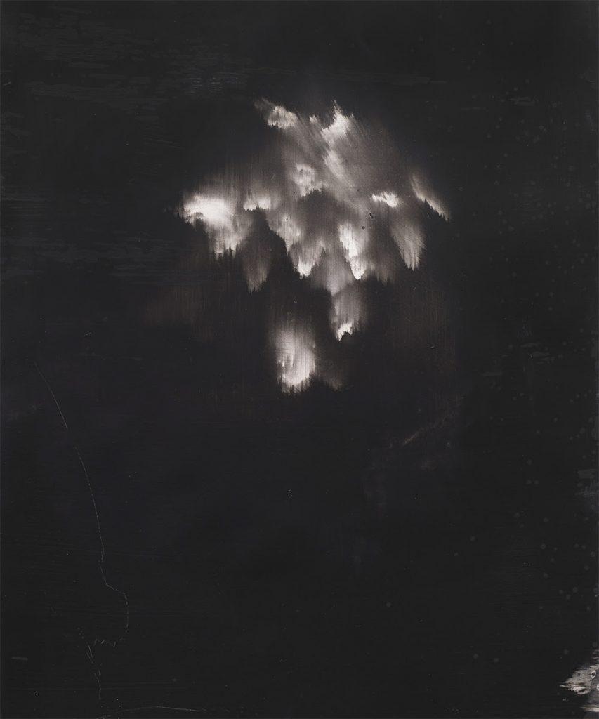 Alexandra Karakashian, Undying I, 2017. Oil on sized paper, 95 x 68 cm