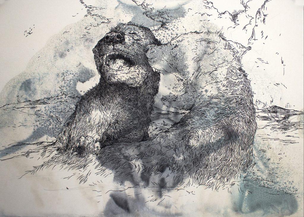 Andrew Kayser at Kalashnikovv Gallery