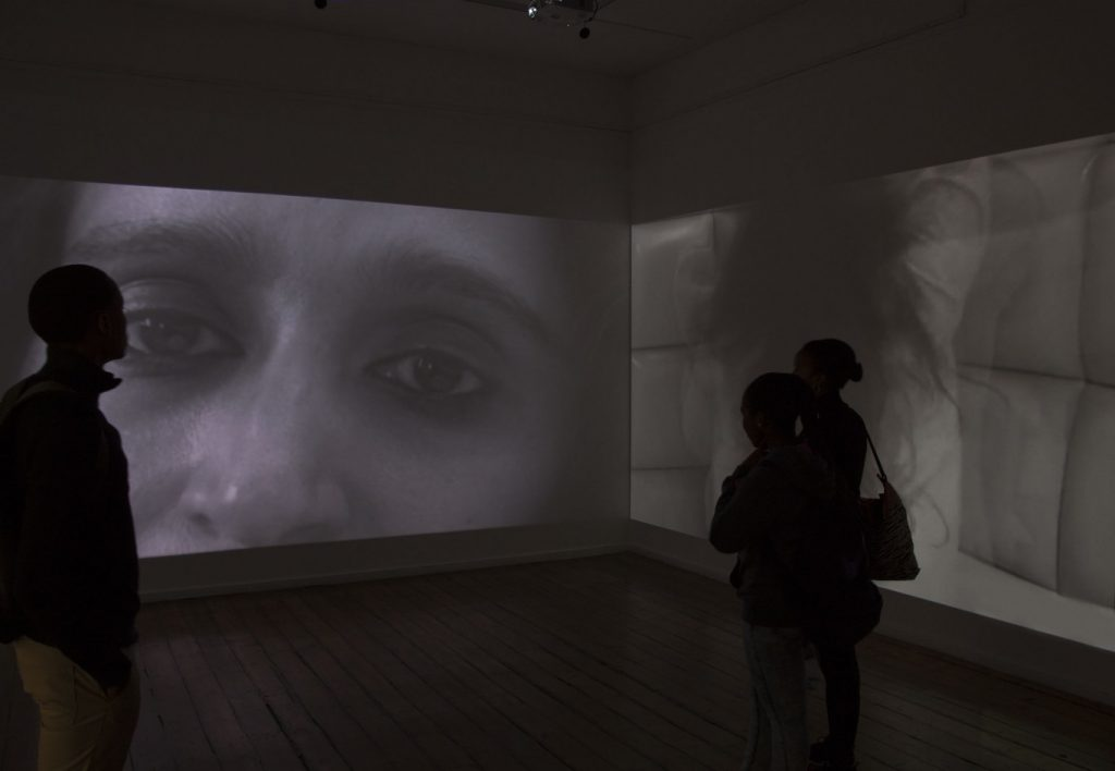Sharlene Khan, Nervous Conditions I, 2013. Video installation, 20 mins