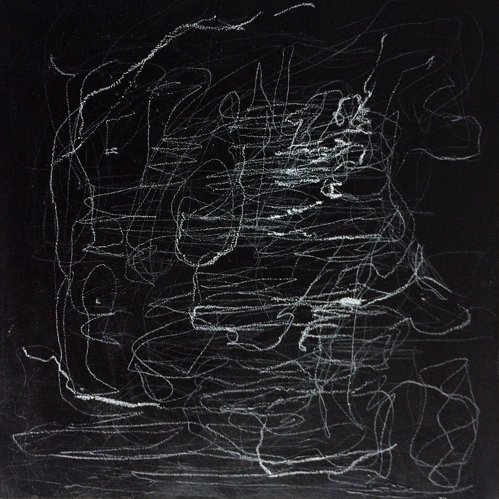 Ronald Muchatuta, <i>Journey</i> (2017). Mixed medium on canvas, 80 x 80 cm