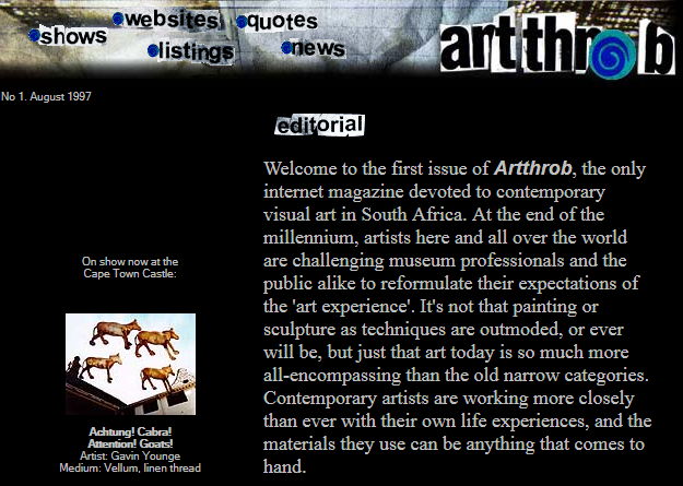 20 Years of ArtThrob: Our Past Editors Reflect