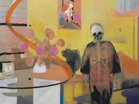 Kate Gottgens, Interior: Lost Soul, 2017. Oil on canvas, 150 x 150 cm