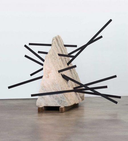 Michele Mathison Intrusion, 2017. Pallisandro marble
