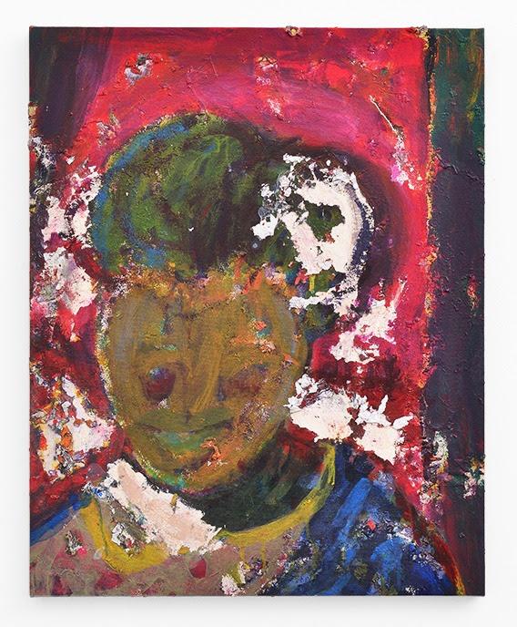 Mostaff Muchawaya, <I>Untitled</I>, 2017. Acrylic on canvas, 81 x 65 cm