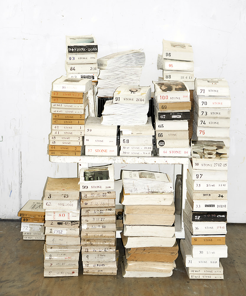 Simon Stone, <i>Sketchbooks</i> 2017, Cape Town. Photograph: Jonathan Kope