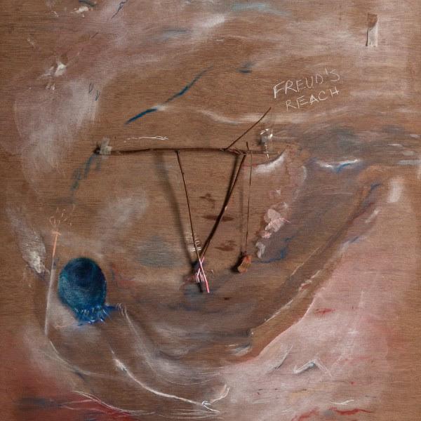 Sorrel Hofmann, <i>Freud's Reach</i> (detail), 2017. Mixed media on board