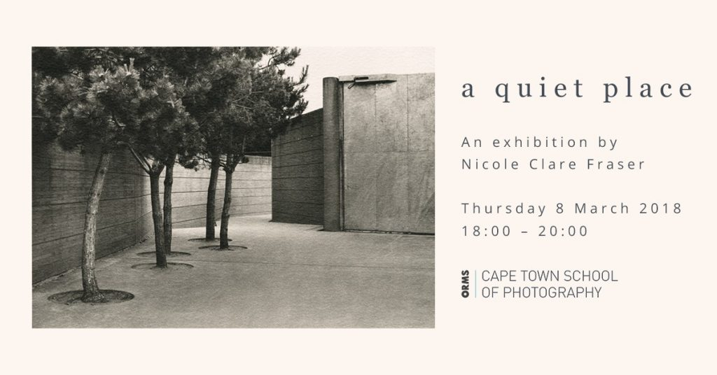 Nicole Clare Fraser at the Orms Cape Town School of Photography