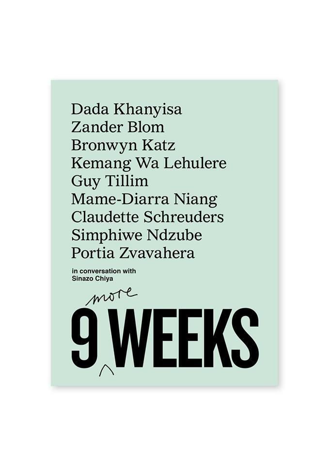 9 More Weeks | Stevenson | Johannesburg